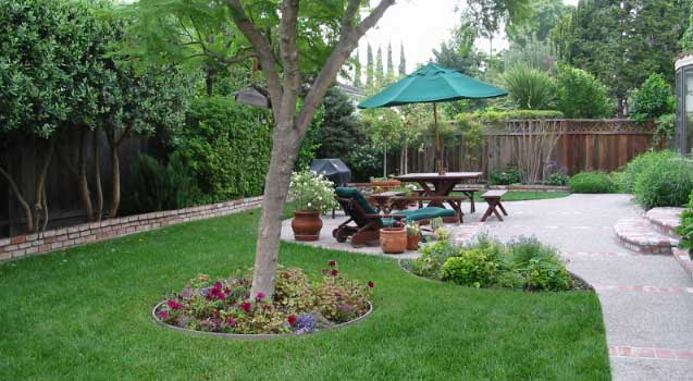 cupertino04 Backyard Landscape Pictures